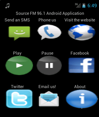 Source FM Google Android app