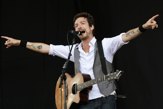 Frank Turner on stage