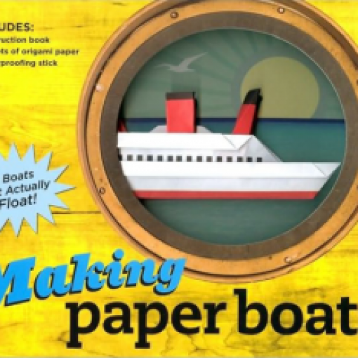 Making Paper Boats Sun 26 Jan 2020